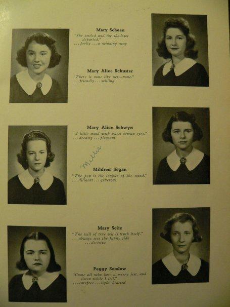 St. Ursula 1940 - Seniors Page 12